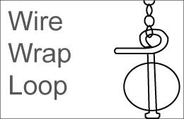 Image depicting a wire wrapped loop