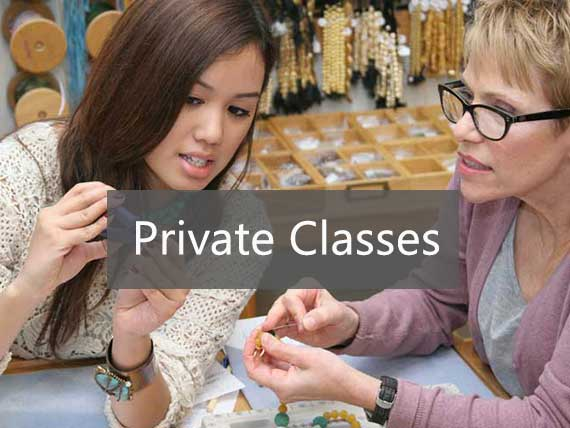 Private Jewelry Making Classes at Beadworks