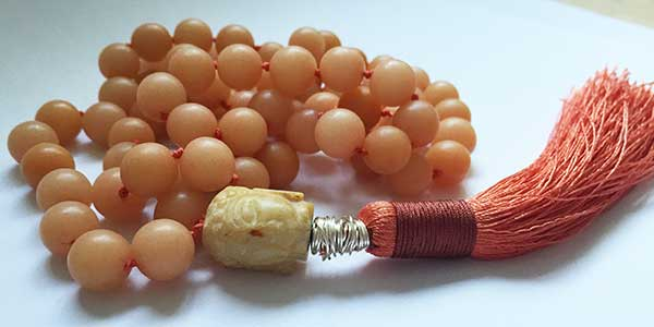 Silk Knotted Mala Prayer Bead Workshop